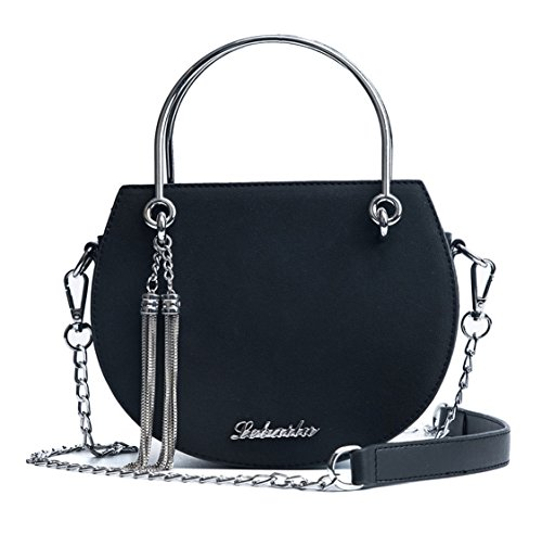 Women's Handle Bags Leather Black Cross Handbags Bags Faux Shoulder Bags Body Top rFgzF