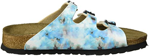 Softfootbed colored Papillio Birko Blue Pixel Women's Flor Mules Multi Florida qxtABR