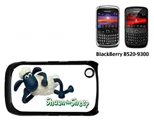 Black Berry Curve 8520 Hard case With Printed DesignShaun The Sheep
