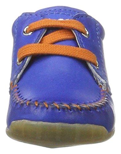 Falcotto 1551, Zapatillas para Bebé-Niños Azul (Hellblau)