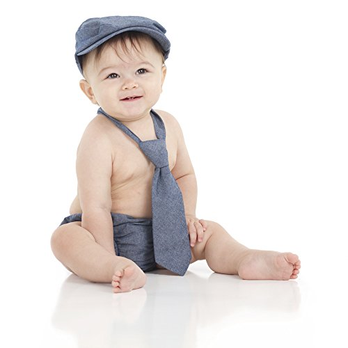 juDanzy Baby Boys Gift Box Cabbie hat Set (6-12 Months,, used for sale  Delivered anywhere in USA