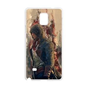 Assassin'S Creed Unity Samsung Galaxy Note 4 Cell Phone Case White PhoneAccessory LSX_735018