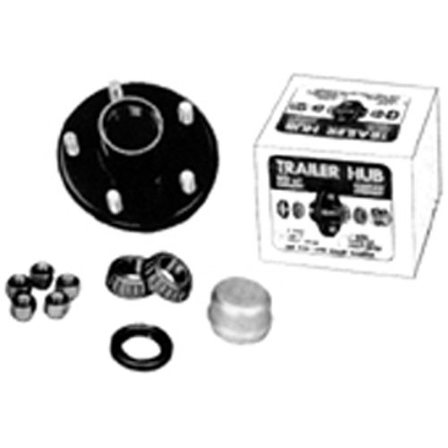 Tie Down Engineering 81090 5 Stud Marine UHI Hub Kit with Bearing by Tie Down Engineering (Image #2)