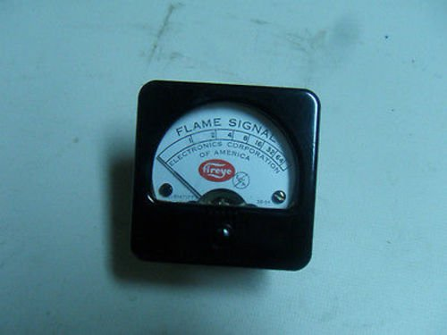 1 New Fireye 38-54 Flame Signal Meter Single Range (N2-3) by fireye
