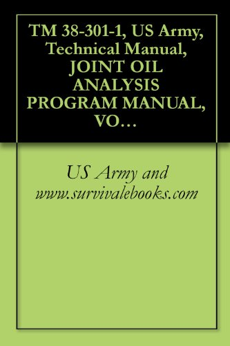 (TM 38-301-1, US Army, Technical Manual, JOINT OIL ANALYSIS PROGRAM MANUAL, VOLUME I, INTRODUCTION, THEORY, BENEFITS, CUSTOMER SAMPLING PROCEDURES, PROGRAMS AND REPORTS, 2008)