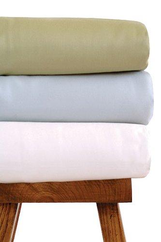 Bamboo Dreams Crib Sheet Color: Rain - 1
