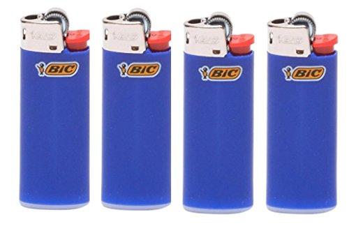 BIC Lot of 4 Mini Blue ()