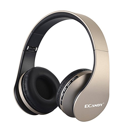 Ecandy Bluetooth Headphones wireless/wired with hands free calling.