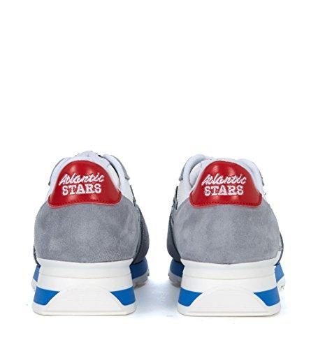 Atlantic E Tessuto Bianco Grigio In Sneaker Antares Stars Uk Suede Multicolor Taglia rZYwnqxwH