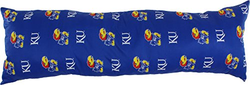 College Covers Kansas Jayhawks Printed Body Pillow - 20