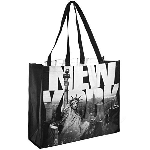 NYC Photo Reusable Shopping Tote Bag - New York New York