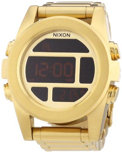 Nixon The Unit Digital Dial Stainless Steel Quartz Men's Watch A360-502