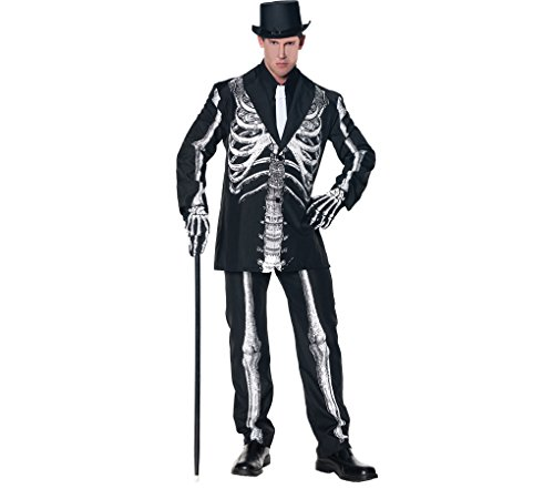 Bone Daddy Costume - One Size - Chest Size 42-46