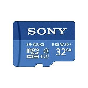 Sony SR-32UX2A 32GB MicroSD Class 10 memoria flash - Tarjeta de memoria (32 GB, MicroSD, Clase 10, 95 MB/s, Negro)