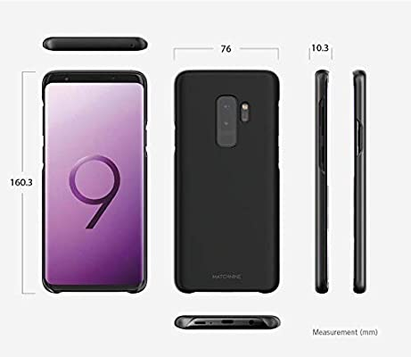 outlet store 41ad2 a8a27 Samsung Galaxy S9 Plus Matchnine Hori Back Case Cover - Black Carbon ...