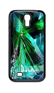 Cool Painting green color Snap-on Hard Back Case Cover Shell for Samsung GALAXY S4 I9500 I9502 I9508 I959 -262 wangjiang maoyi
