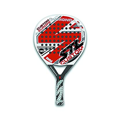 Steel Custom Diamond Roja Pala de Padel 2014