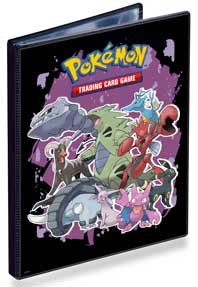 Ultra PRO Pokemon HeartGold SoulSilver Combo Album - 4 POCKET PORTFOLIO (Pokemon Trading Card Album / Binder)(Pokemon Series 4) 82102-4P