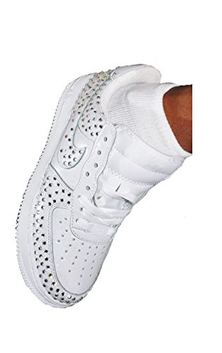 Rhinestone Nike Air Force One Sneakers by Prima DND