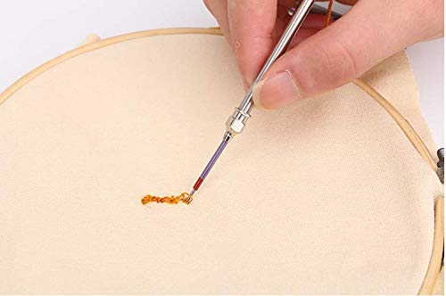 Punch Needle Punch Needle Embroidery Set with 5 Sizes Needle Kit Tool for DIY Craft