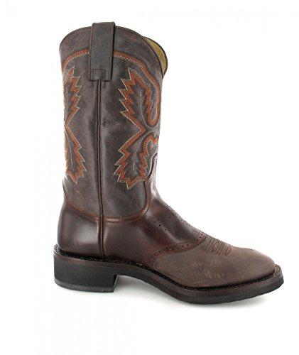Sendra Boots5357 - Stivali western Unisex – adulto Marrone (Chocolate Seahorse)