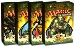 Theme Deck Lorwyn - Magic the Gathering: MTG Lorwyn: Morningtide Theme Deck Set of 4 [Toy]
