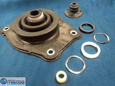 Factory Kit Shift (New OEM Mazda Miata MX5 1990-2005 shifter insulator boot kit 5 speed)