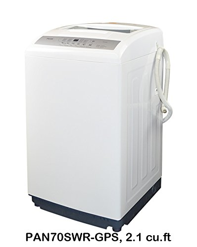 Panda Compact Washer 2.0cu.ft, High-End Fully Automatic Portable Washing Machine, white