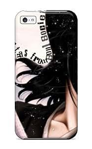 Flexible Tpu Back Case Cover For Iphone 5c - Bleach