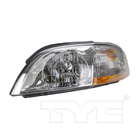 CarLights360: Fits 2001 2002 2003 Ford Windstar Headlight Assembly Driver Side (Left) NSF Certified w/Bulbs - Replacement for FO2502178 ()