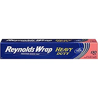 Reynolds Wrap Heavy Duty Aluminum Foil, (3pack(130 Square))