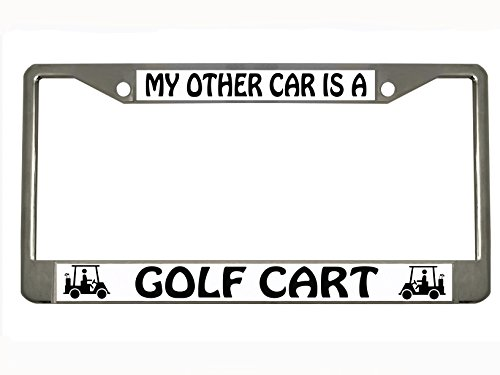 Chrome Auto License Tag Holder product image
