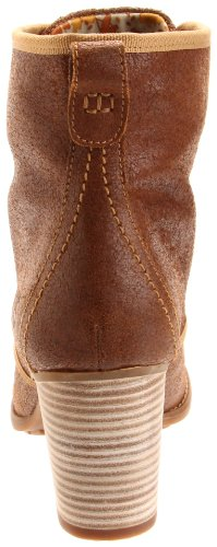Timberland RUDSTON DSRT BT WHEAT 19698 - Botas de cuero nobuck para mujer Marrón (Braun/Wheat)