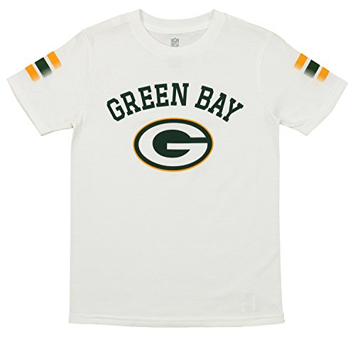 - Outerstuff NFL Youth's Short Sleeve First Line Tee, Green Bay Packers Large (14-16)
