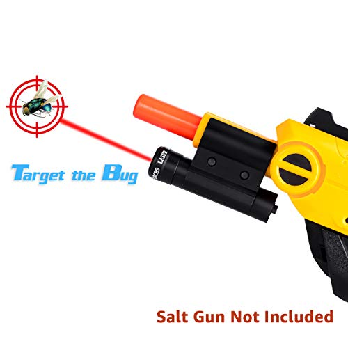 Lanforest Gun 2.0 Laser Sight, Accessories of Bug Assault for Killing Flies, Fits All Versions of Insect Airsoft BB Pump Shooter Rifles