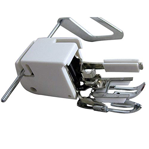 Bettli Even Feed Walking Presser Foot for Quilting or Thick Fabric Sewing on Low-Shank Sewing Machines (Walking Foot)