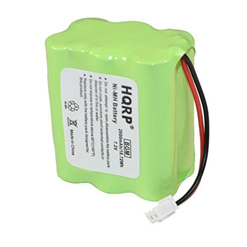 (HQRP Backup Battery for 2gig BATT1X BATT2X BATT1 GC2 2GIG-CNTRL2 2GIG-CP2 GCKIT311 Go Control Panel Security System Alarm 6MR2600AAY4Z 10-000009-001 Plus HQRP)