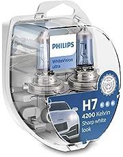 Philips 12972WVUSM WhiteVision ultra Xenon-effect H7 koplamp, 4.200K, dubbele set, 2 stuks