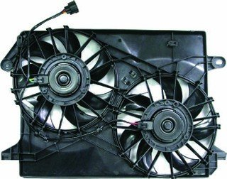 QP D7119-c Dodge Charger Replacement AC A/C Condenser Radiator Cooling Fan/Shroud Assembly
