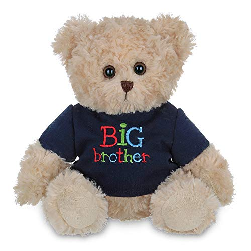 Bearington Big Buddy Plush Stuffed Animal Big Brother Teddy Bear, 12 inches (Teddy Bear Little Brother)