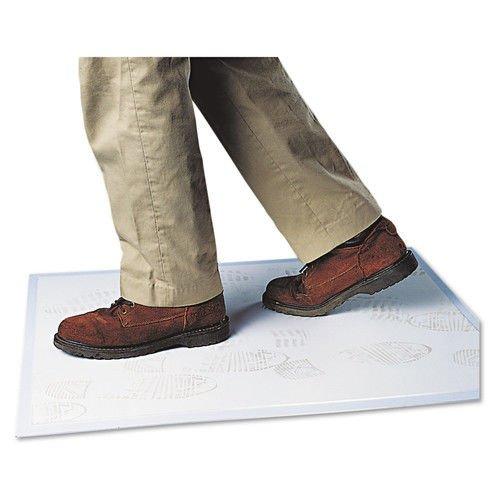 Clean Dirt Grabber Mat - Crown WC3125SG Walk-N-Clean Dirt Grabber Mat w/Starter Pad, 31 1/2 x 25 1/2, Gray
