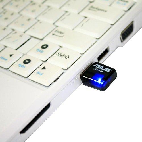 Asus USB-N10 USB 2.0 802.11a/b/g/n Wi-Fi Adapter