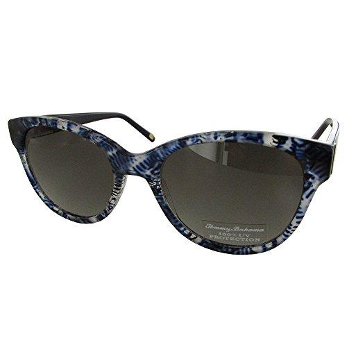 Tommy Bahama TB7047 Colada Efficionada Sunglasses 414 Navy/Black Frame Grey - Sunglasses Bahama Tommy