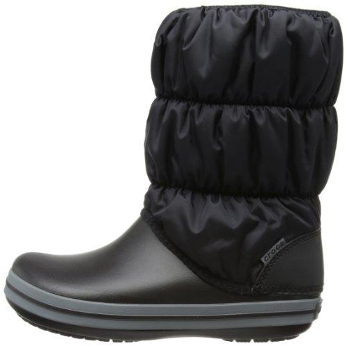 Charcoal Charcoal Donna Nero Puff Stivali Boot Crocs Crocs Black W Winter 6qwFSB8