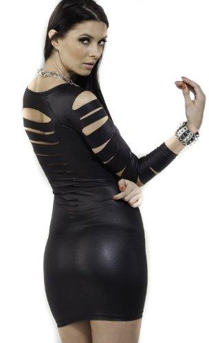 Sexy Cut Out Barracuda Quarter Sleeves Club Dress