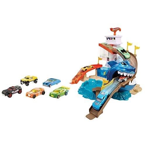 Vehicules Hot Wheels - BGK04 Miniature - Piste Requin Attaque