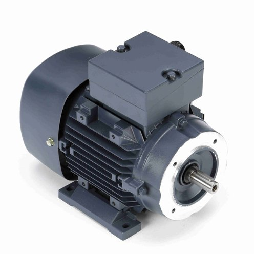 Leeson Electric 192028.00 - IEC Frame AC Motor - 3 ph, 0.25 kW, 1800 rpm, 230/460 V, D71C Frame, Totally Enclosed Fan Cooled Enclosure, 60 ()