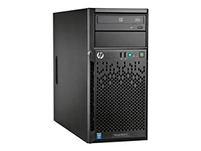HP ProLiant ML10 v2 Tower Server System Xeon E3-1220v3 3.1 GHz 4 GB Standard /32GB MAX RAM DVD-RW