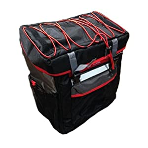 Elite 0143101 Tri Box Bag for Triathlon Transition Area, Black