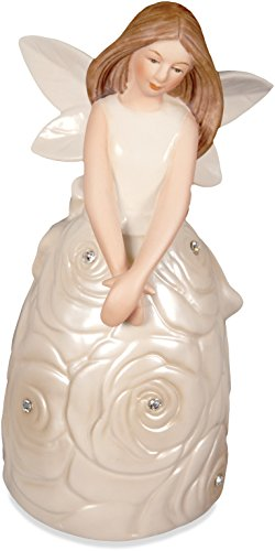 (AngelStar 10369 Innocence Porcelain Bell Figurine, 5-1/4-Inch)